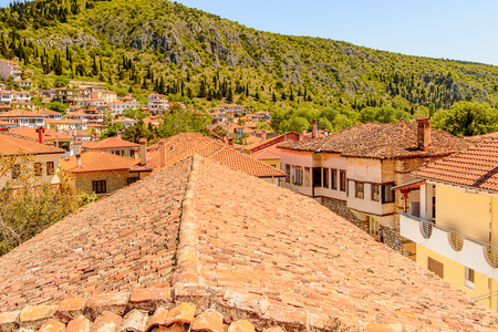 Roof top of Kastoria, West Macedonia, Greece