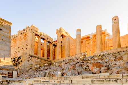 Propylaea, gateway to the Acropolis of Athens.