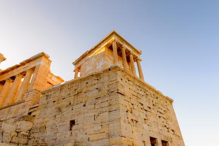 Acropolis of Athens. Stok Fotoğraf