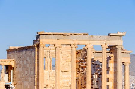 Erechtheion or Erechtheum, Acropolis of Athens.