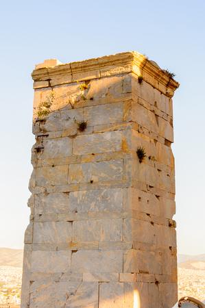 Propylaea, gateway to the Acropolis of Athens. UNESCO World Hetiage site.