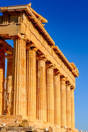 Acropolis of Athens. Stock Photo