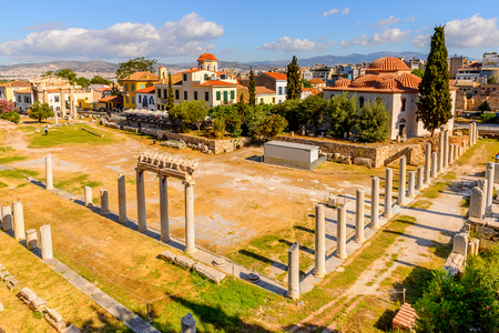 Roman forum, Agora of Athens, Greece