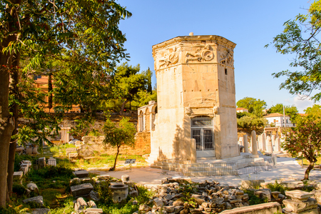 Tower of the Winds, Agora, Greece Stock Photo