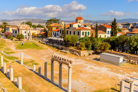 Roman forum, Agora of Athens, Greece