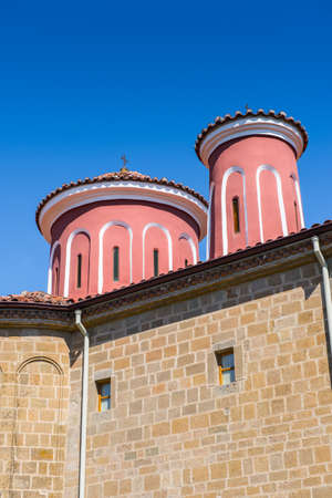 Church of the Holy Monastery of Saint Stephen in Meteora mountains, Thessaly, Greece.