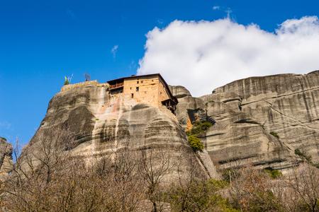 Monastery of the Meteora mountains, Thessaly, Greece.
