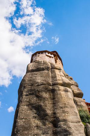 Saint Nicholas monastery in Meteora mountains, Thessaly, Greece. Stock Photo