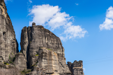 Meteora mountains, Thessaly, Greece.