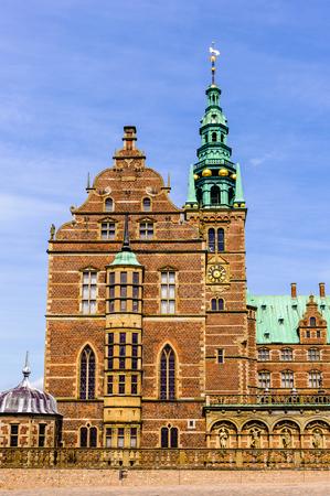 Frederiksborg Palace Or Castle A In Hillerod Denmark Former Royal Residence For