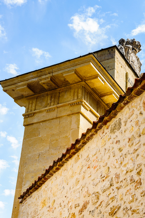 San Andres Gate, Segovia, Spain Stock Photo