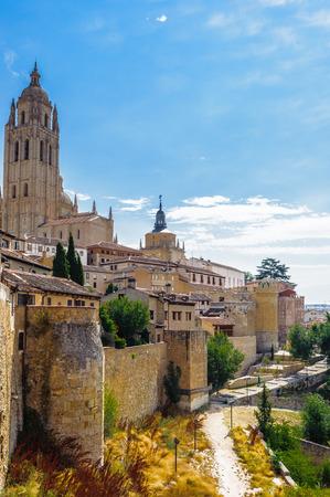 Segovia, a city in the autonomous region of Castile and León, Spain.