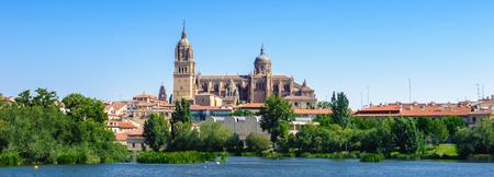 Panorama of the Old City of Salamanca