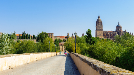 Roman bridge of Salamanca, Spain
