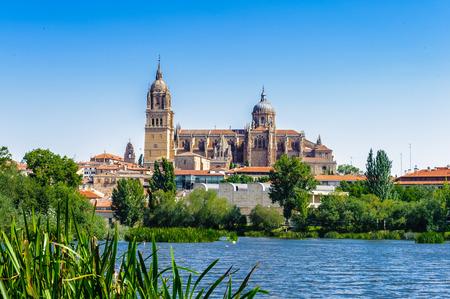 Old City of Salamanca, UNESCO World Heritage. Spain Editorial