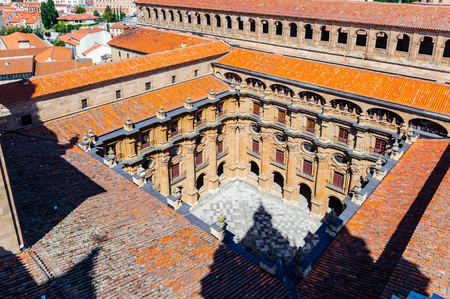Yard of the Cathedral of Salamanca, Spain