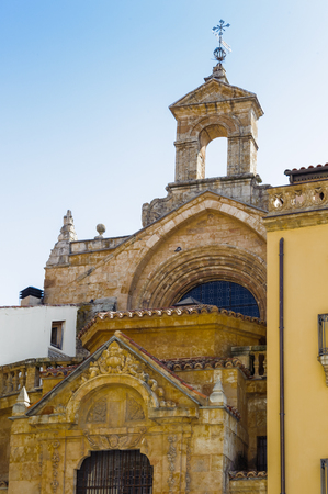 Architecture of the Old City of Salamanca.Spain