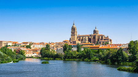 Old City of Salamanca. Spain Stock Photo