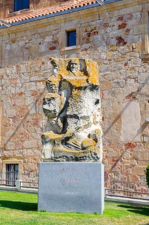 Salamanca y Congora monument in Salamanca, Spain