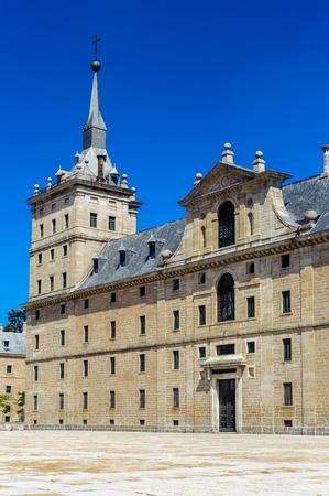 Castle of El Escorial, King of Spain Palace, Escorial, Spain