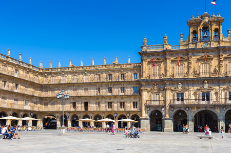 Plaza Mayor de Salamanca (Salamanca Major Square), Salamanca, Spain