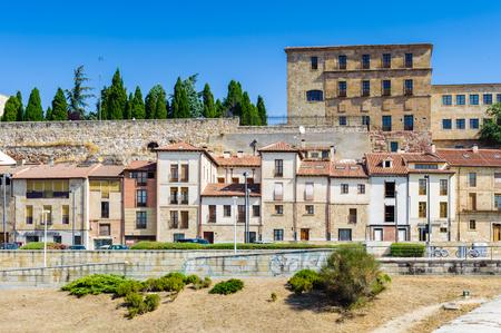 Buildings in Salamanca, Spain Stock Photo
