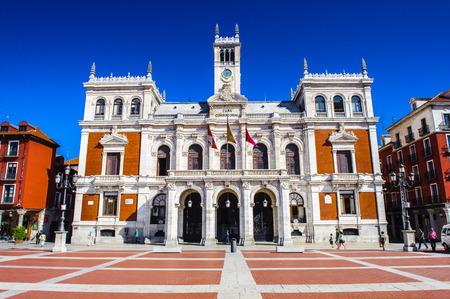 Plaza Mayor (Hauptplatz) von Valladolid, Spanien Standard-Bild - 91727871