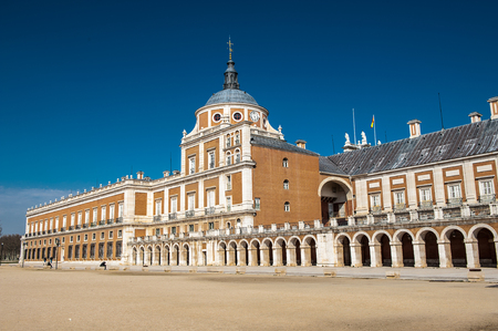 Royal Palace of Aranjuez, a residence of the King of Spain, Aranjuez, Community of Madrid, Spain. UNESCO World Heritage