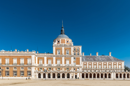 Part of the Royal Palace (Palacio Real), Aranjuez, Spain Editorial