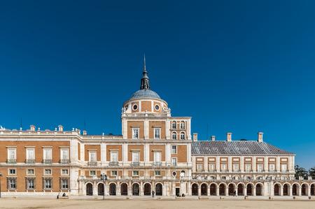 Part of the Royal Palace (Palacio Real), Aranjuez, Spain Stock Photo