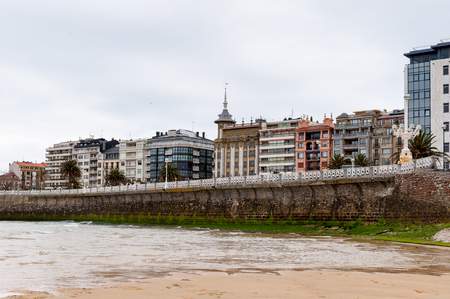 Hotels of the Bay de la Concha, San Sebastian, Basque Country, Spain.