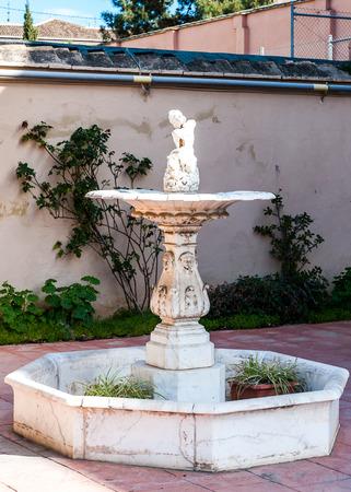 Garden in Valencia Stock Photo
