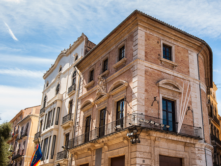 Architecture of the Historic Centre of Valencia, Spain