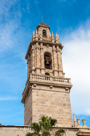 Tower of the Convent of Santo Domingo de Valencia,  Former General Captaincy of Valencia. Valencia, Spain