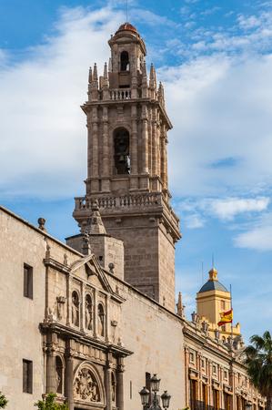 Convent of Santo Domingo de Valencia, next to the Old Citadel of the city.  Former Captaincy General of Valencia. Valencia, Spain Editorial