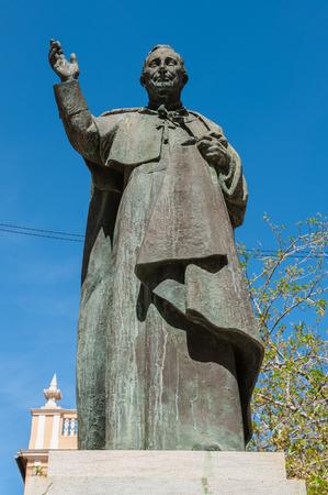 Statue to Arzobispo Marcelino, Valencia, Spain