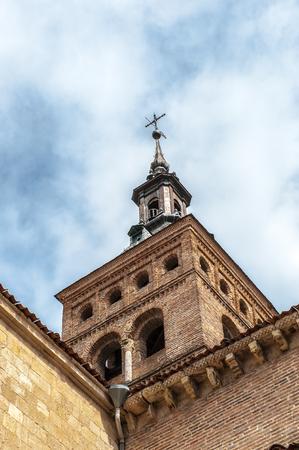 Architecture of Segovia, Spain Stock Photo
