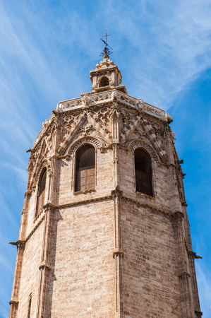 Tower of the Cathedral of Valencia, called el Miguelito Editorial
