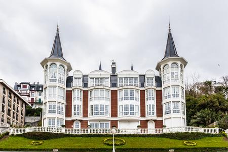 Modern architecture of San Sebastian, Spain Editorial