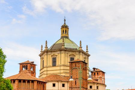 Santa Margarita delle Grazie, Milan, the capital of Lombardy,  Italy.