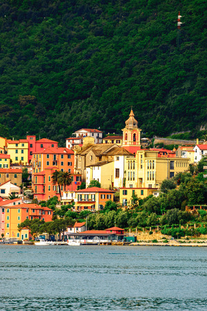 Architecture of La Spezia, Italy. Stock Photo