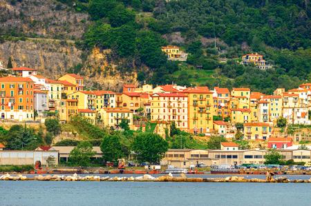 Architecture of La Spezia, Italy. Stock Photo