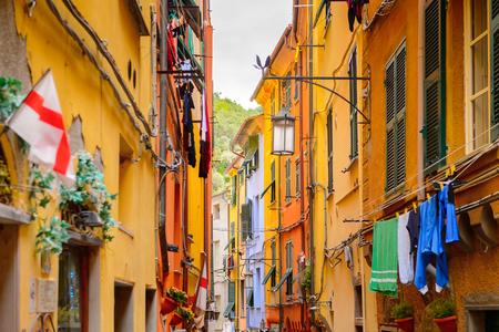 Street of Porto Venere, Italy.