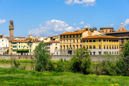 Palazzo Vecchio (Old Palace), Historic Centre of Florence, Italy.  UNESCO World Heriage.