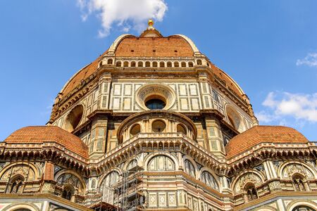 Cathedral of Santa Maria del Fiore in Tuscany, Florence, Italy. Stock Photo