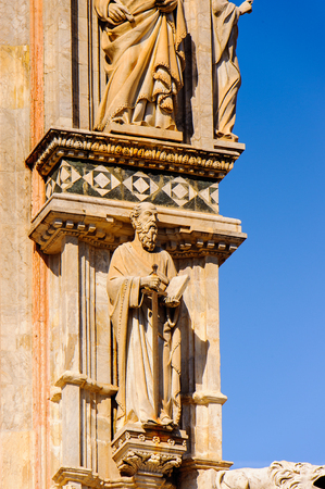 Metropolitan Cathedral of Saint Mary of the Assumption (Cattedrale Metropolitana di Santa Maria Assunta), Duomo di Siena, Italy