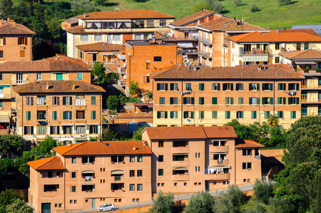 Historic centre of Siena.