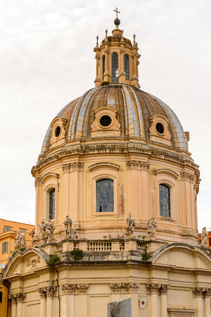 Historic Center of Rome, Italy. Rome is the capital of Italy and a popular touristic destination