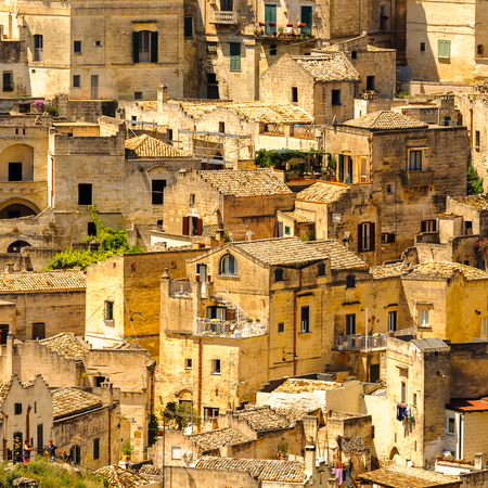 The Sassi and the Park of the Rupestrian Churches of Matera.