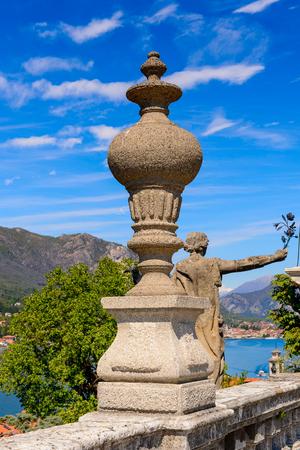 Garden on the Isola Bella (Bella Island), Lake Maggiore, Italy